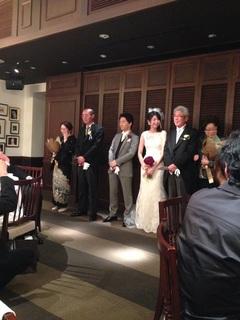 いい結婚式だったなぁ〜(^J^)